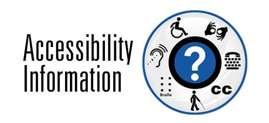 Accessibility Information Here