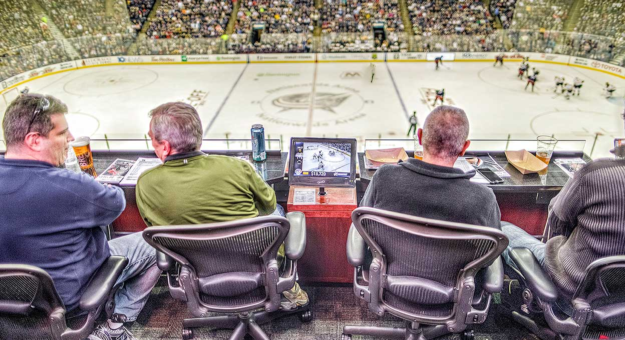 Loge Boxes Amp Terrace Tables Nationwide Arena