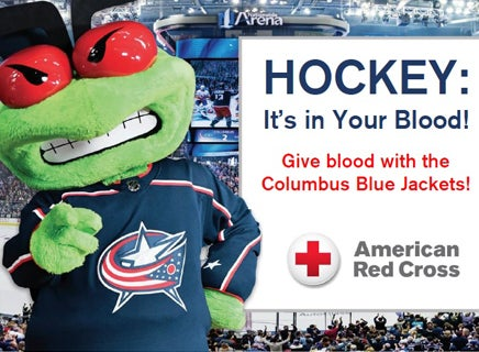 More Info for Blue Jackets Blood Drive